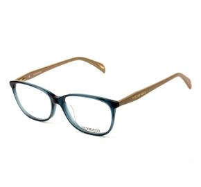 Victor Hugo VH1720 - Azul/Nude 0AGQ 54mm - Óculos de Grau