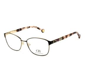 Óculos Carolina Herrera VHE 109 - Preto/Mesclado 0327 55mm - Óculos de Grau