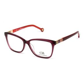 Óculos Carolina Herrera VHE 585 - Vinho 0w48 55mm - Óculos de Grau