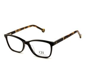 Carolina Herrera VHE 712 - Preto/Turtle 0700 52mm - Óculos de Grau