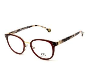 Óculos Carolina Herrera VHE 727 - Vinho/Mesclado 06DC 50mm - Óculos de Grau