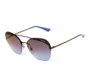 Vogue VO 4104-S - Roxo Espelhado 5074H7 57mm - Óculos de Sol