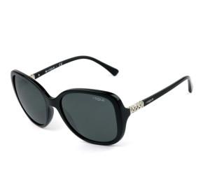 Vogue VO 5154-SB - Preto/Cinza W44/87 56mm - Óculos de Sol