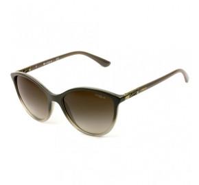 Vogue VO 5165-S - Cinza/Marrom Degradê 255813 55mm - Óculos de Sol