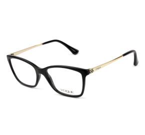 Vogue VO 5043-L - Preto/Dourado W44 54mm - Óculos de Grau