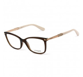 Vogue VO5125-L - Marrom/Nude 2591 53mm - Óculos de Grau