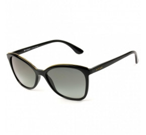 Vogue VO5159-SL - Preto/Cinza Degradê W44/11 58mm - Óculos de Sol