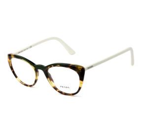 Prada VPR 07V - Turtle/Branco 321-1O1 51mm - Óculos de Grau