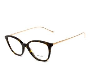 Prada VPR 11V -  Turtle/Dourado 2AU-1O1 51mm - Óculos de Grau
