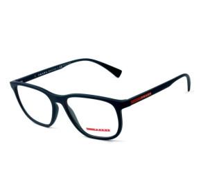 Prada VPS 05L - Óculos de Grau Azul Fosco 288-1O1 Lentes 55mm