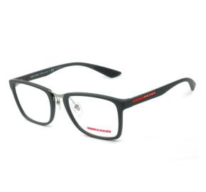 Prada VPS 06L - Óculos de Grau Cinza Fosco UFK-1O1 Lentes 55mm