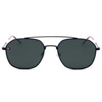 Tommy Hilfiger TH1599/S Azul Fosco/Cinza IPQIR 55mm - Óculos de Sol