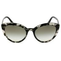 Prada SPR02V - Mesclado/Cinza Degradê 528-0A7 54mm - Óculos de Sol