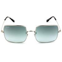 Ray Ban Square RB1971 - Prata/Azul Degradê Evolve 9149AD 54mm - Óculos de Sol