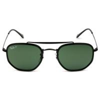 Ray Ban Marshal II RB3648-M - Preto/G15 Polarizado 002/58 52mm - Óculos de Sol