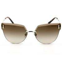 Tiffany & Co. TF3070 Dourado/Marrom Degradê 6021/3B 62mm - Óculos de Sol