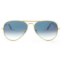 Ray Ban Aviador RB3025L Dourado/Azul Degradê 001/3F 62mm - Óculos de Sol