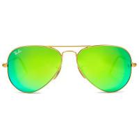 Ray Ban Aviador RB3025L - Dourado/Verde Espelhado 112/19 58mm - Óculos de Sol
