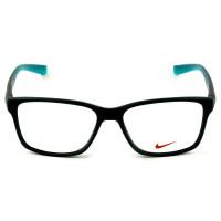 Nike Live Free 7091 - Óculos de Grau 415 Azul Marinho Fosco/ Verde Lentes 54mm