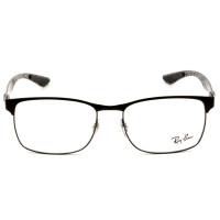 Ray Ban RB8416 Preto Fosco 2503 55mm - Óculos de Grau