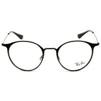Ray Ban RB6378 Preto Fosco 2904 49mm - Óculos de Grau