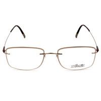Silhouette 5500 JA - Marrom Claro/Bronze 6340 53mm - Óculos de Grau