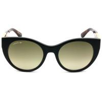 Lacoste L913S Preto/Marrom Degradê 001 53mm - Óculo de Sol