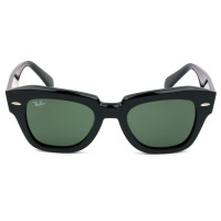 Ray Ban RB2186 State Street Preto/G15 901/31 49mm - Óculos de Sol