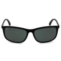 Ray Ban RB4328L Preto Fosco/Cinza 601S87 63mm- Óculos de Sol