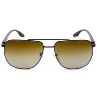 Prada Linea Rossa SPS55V Preto/Marrom Degradê Polarizado 1BO-02l 62mm - Óculos de Sol