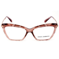 Dolce & Gabbana DG5025 - Rose/Bronze 3148 53mm - Óculos de Grau