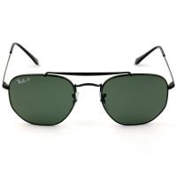 Ray Ban Marshal RB3648 - Preto/G15 Polarizado 002/58 54mm - Óculos de Sol