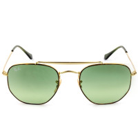 Ray Ban Marshal RB3648 - Óculos de Sol 9103/4M Dourado/Turtle Lentes 54mm