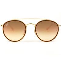 Óculos Ray-Ban Round Ponte Dupla RB3647N 001/70 51 - Sol