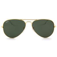 Ray Ban Aviador RB3025L - Dourado/G15 Polarizado 001/58 58mm - Óculos de Sol