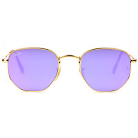 Ray-Ban Hexagonal RB3548N 001/80 51 - Óculos de Sol