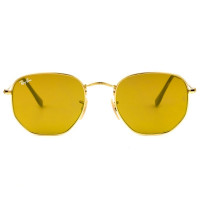 Ray Ban Hexagonal RB3548N - Dourado 001/93 51mm - Óculos de Sol