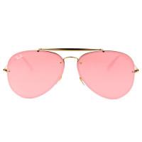 Ray Ban Blaze Aviador RB3584-N - Dourado/Rose Semi-Espelhado 9052/E4 61mm - Óculos de Sol
