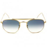 Ray Ban Marshal RB3648 001/3F 54 -Óculos de Sol