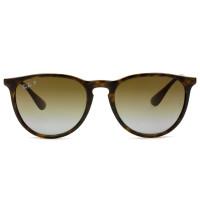 Ray Ban Erika RB4171 - Turtle/Marrom Degradê Polarizado 710/T5 54mm - Óculos de Sol