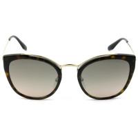 Prada SPR 20U - Óculos de Sol Turtle/Marrom Degradê 2AU-4P0 Lentes 54mm