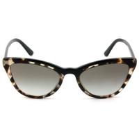 Óculos Prada SPR01V - Turtle/Marrom Degradê 398-0A7 56mm - Óculos de Sol