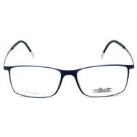 Silhouette SPX2902 - Azul/Grafite 60 6055 53mm - Óculos de Grau