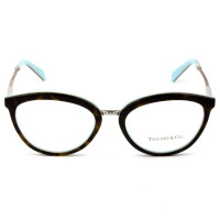 Tiffany & Co TF 2173 - Óculos de Grau Turtle/Azul 8134 Lentes 53MM