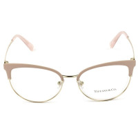 Óculos de Grau Tiffany & Co TF1132 Rosa/Dourado 6132 Lentes 51mm