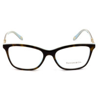 Tiffany & Co TF2116-B - Óculos de Grau 8134  Turtle e Dourado Lentes 53mm