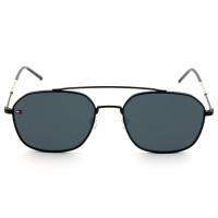 Tommy Hilfiger TH 1599/S - Óculos de Sol Preto 807IR Lentes 55mm