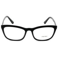 Prada VPR 10V - Preto 1AB-1O1 54mm - Óculos de Grau