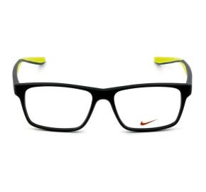 Nike 7101 - Cinza Fosco/Verde 060 53mm - Óculos de Grau