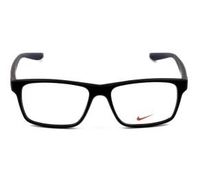 Nike 7101 - Preto Fosco/Azul 001 53mm - Óculos de Grau